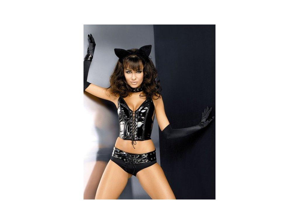 Kostým kočičí ženy S-M