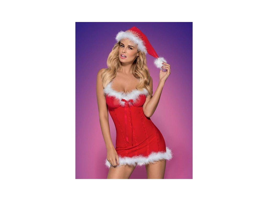 Vánoční kostým sexy šaty S/M