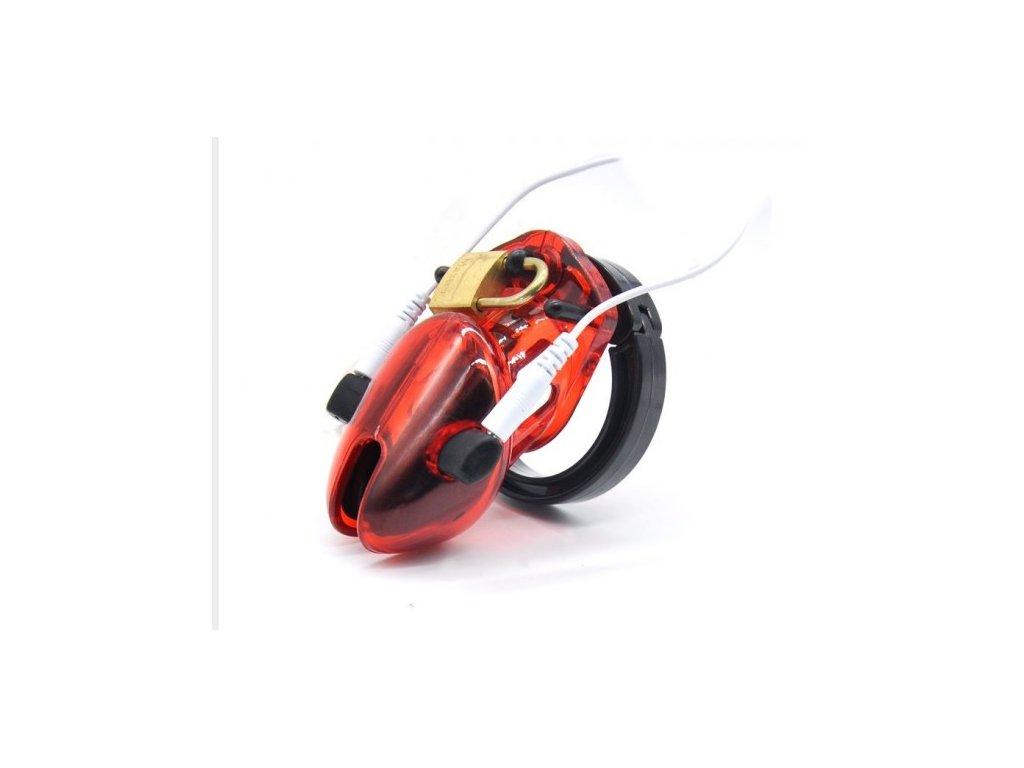 Klícka Elektro-sex červená krátká verze