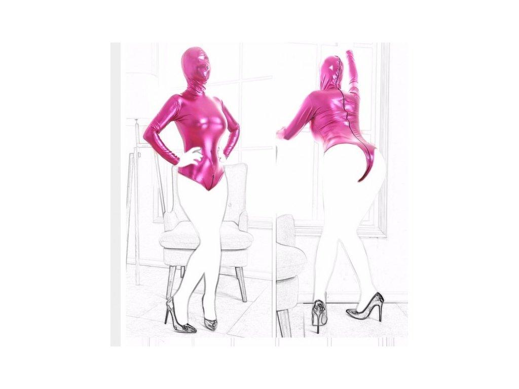 BDSM body růžové