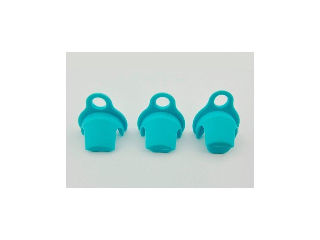 Plastové vložky do klícek modré