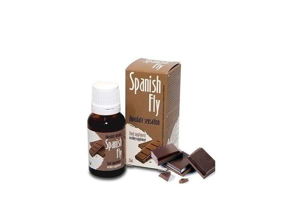 Španělské mušky čokoládové 15ml
