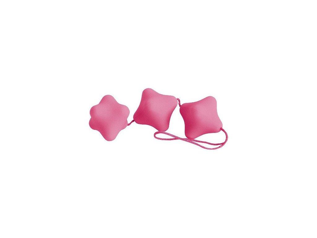 Venušiny kuličky 3-dílné růžové