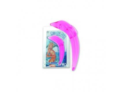 Gelový delfínek  fialovo-ružový