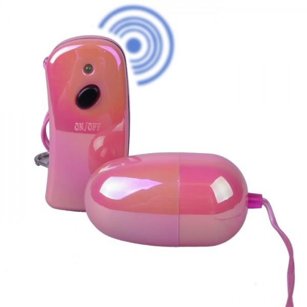 Vibrační vajíčko s dálkovým ovladačem