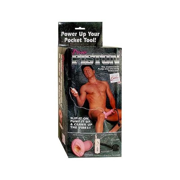 Vibrační vagína a vakuová pumpa