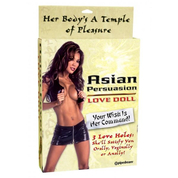 Nafukovací panna Asiatka