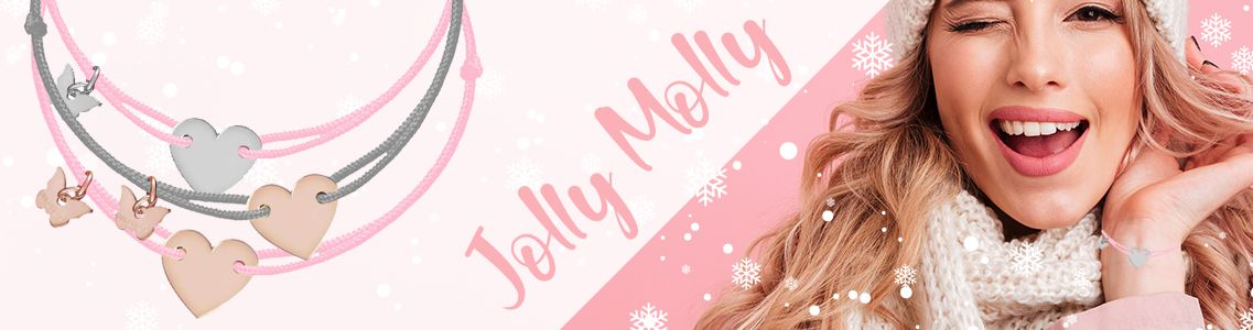 Náramky značky Jolly Molly