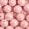 Akrylové broušené korálky