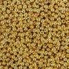 Mosazný korálek - rondelka - zlatá - ∅ 4 x 3 mm - 1 ks