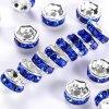 Mosazná rondelka - stříbrná - třída A  - ∅ 8 x 3,8 mm - 1 ks