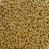 Mosazný korálek - rondelka - zlatá - ∅ 6 x 3 mm - 1 ks