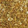 Mosazný mezidíl - zlatý - 6 x 2 mm - 1 ks