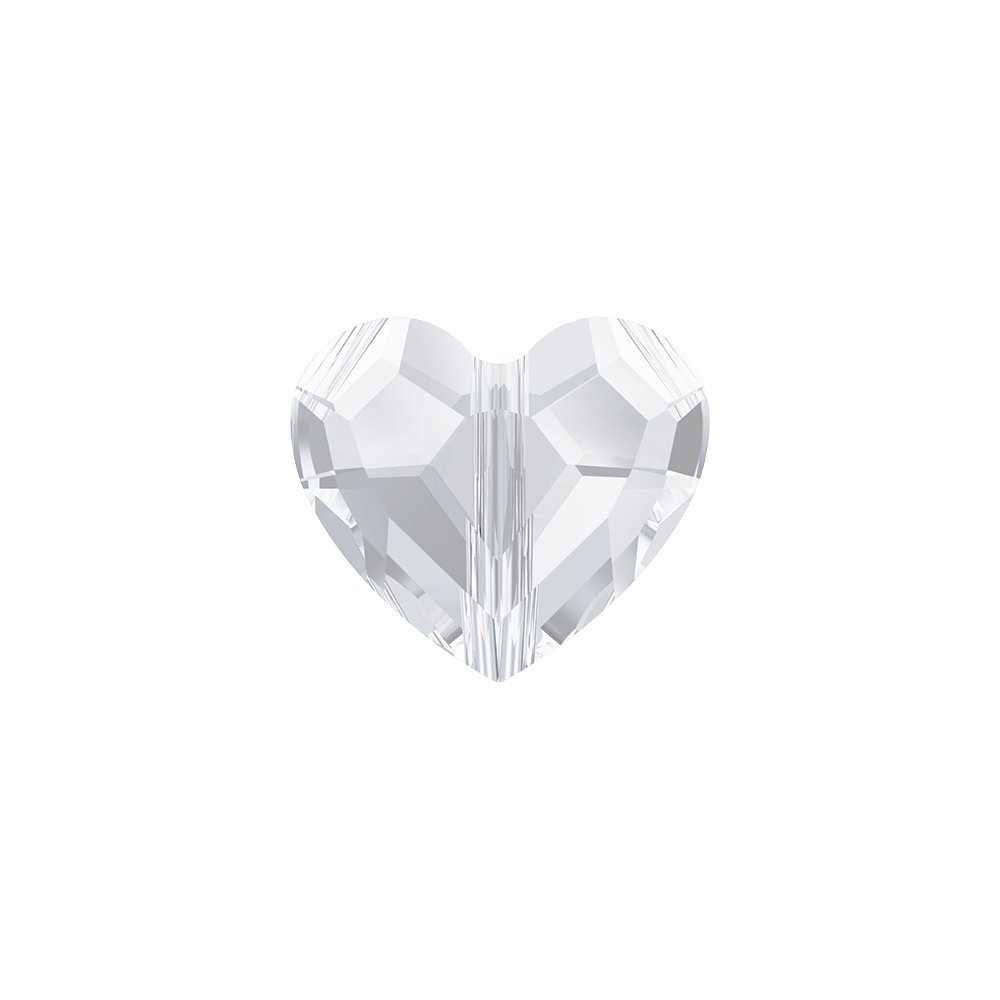 SWAROVSKI 5741 - LOVE BEAD - Crystal - 7,5 x 8 x 4 mm - 1 ks