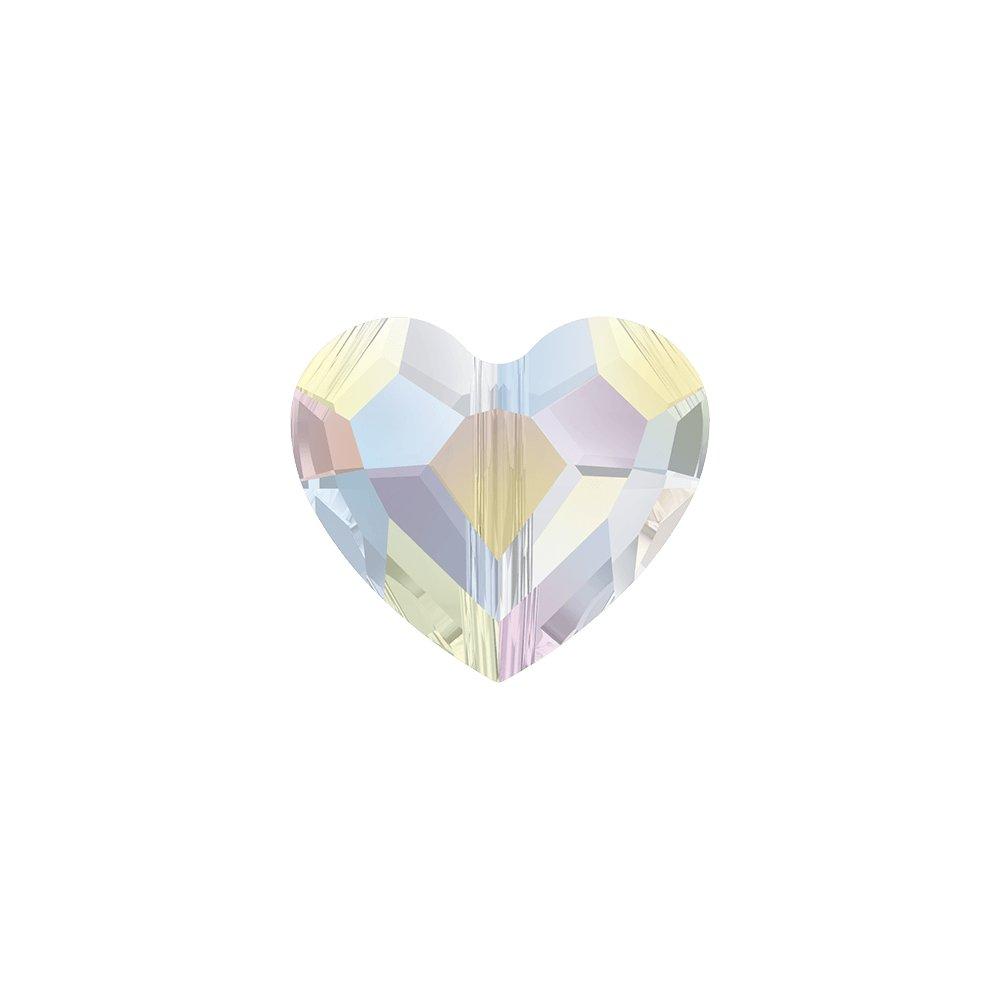 SWAROVSKI 5741 - LOVE BEAD - Crystal Aurore Boreale - 7,5 x 8 x 4 mm - 1 ks
