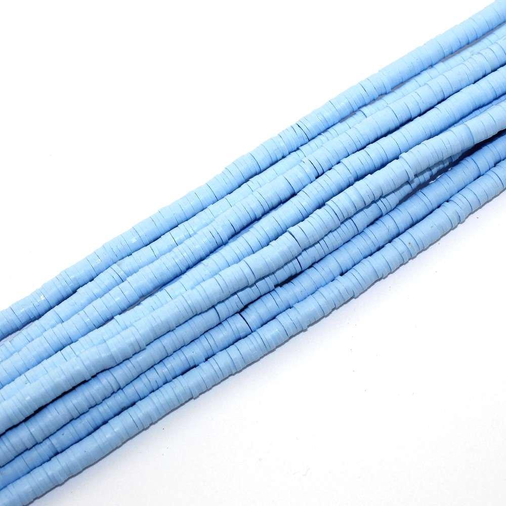 Lentilky z polymeru - světle modré - ∅ 5 mm - 10 ks