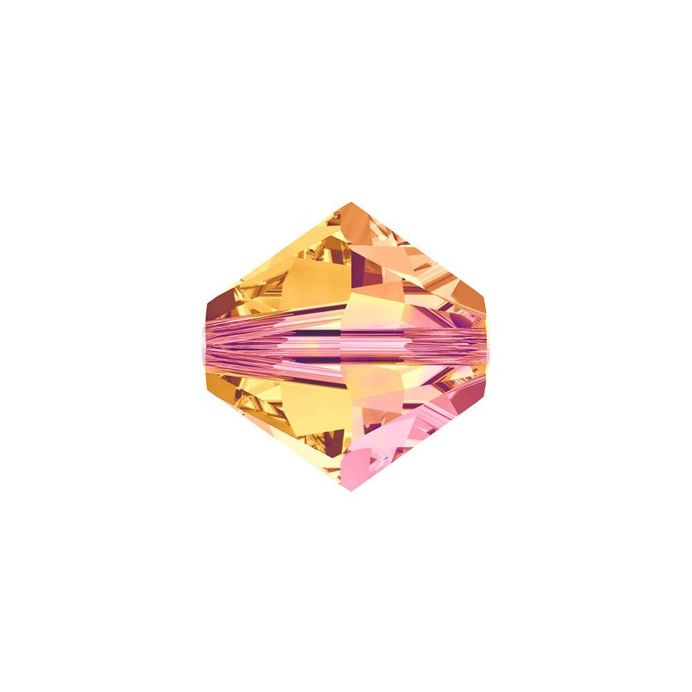 SWAROVSKI 5328 - XILION BEAD - Crystal Astral Pink - ∅ 6 mm - 1 ks