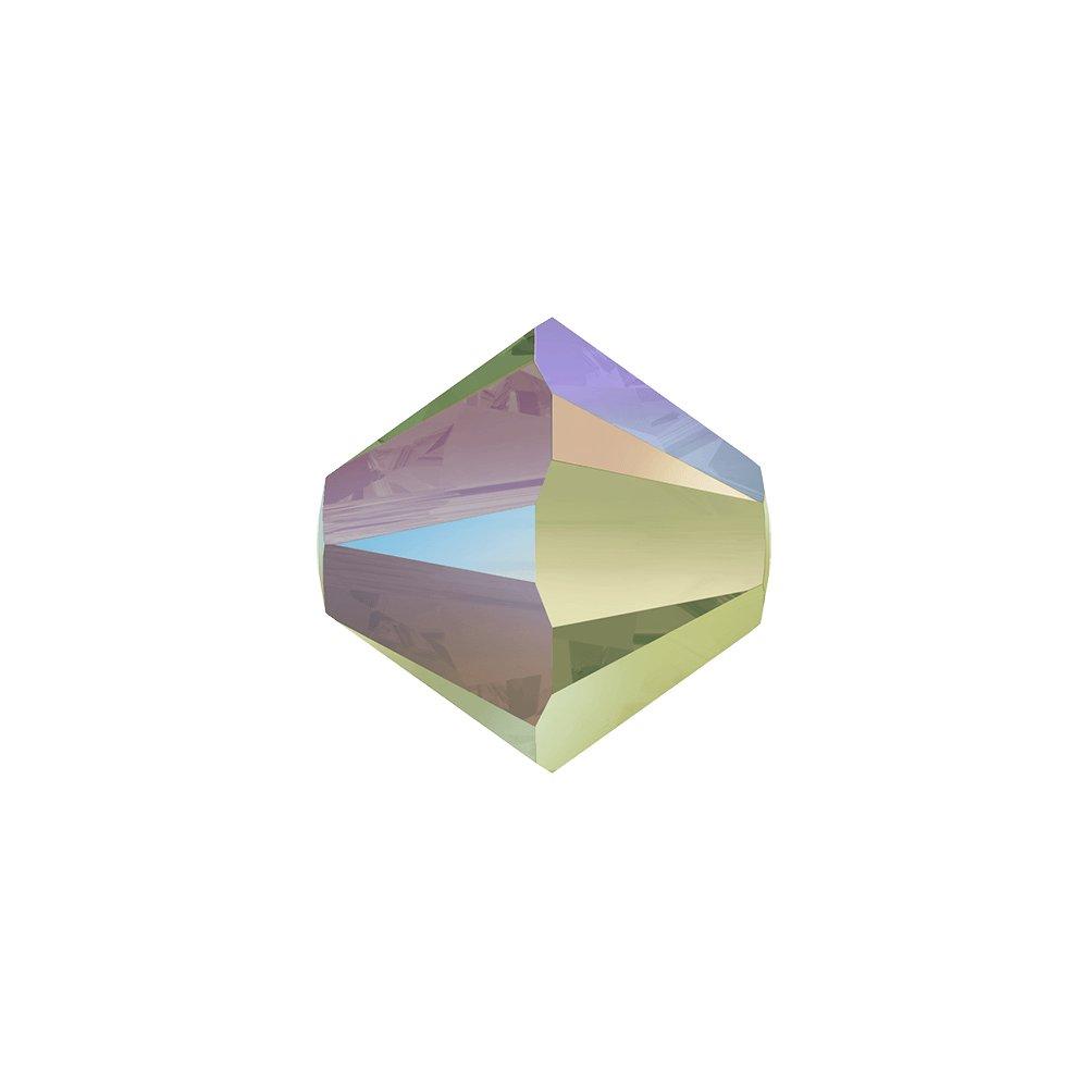 SWAROVSKI 5328 - XILION BEAD - Crystal Paradise Shine 2x - ∅ 4 mm - 1 ks