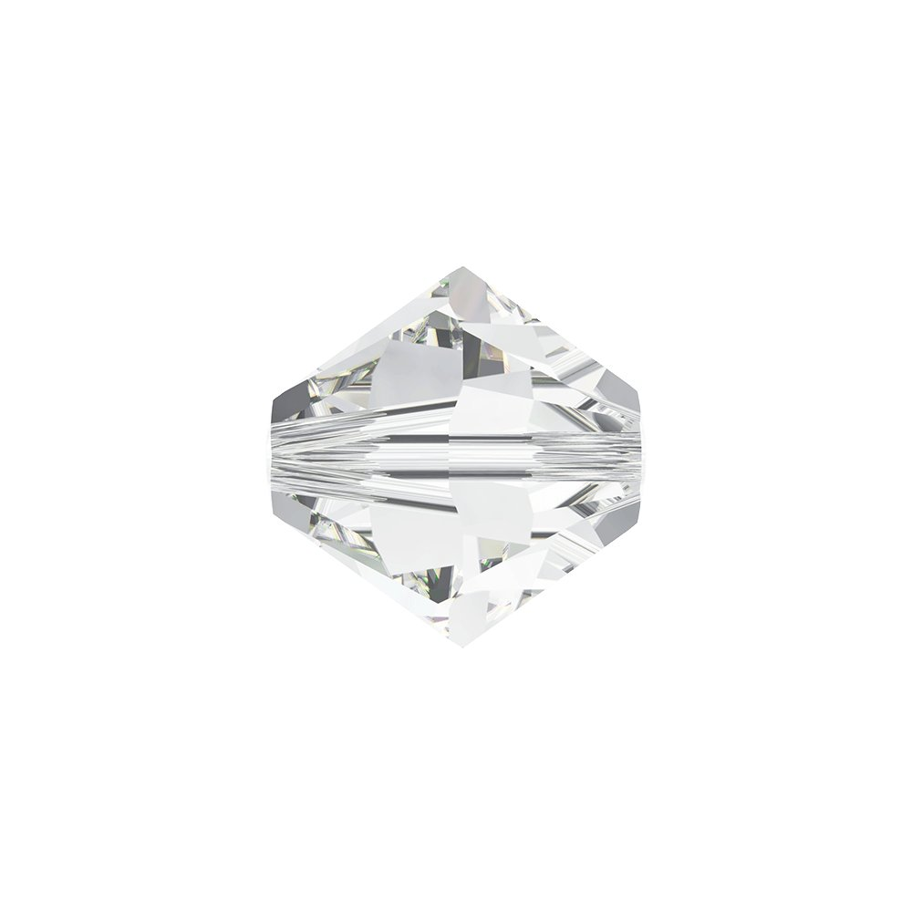 SWAROVSKI 5328 - XILION BEAD - Crystal - ∅ 4 mm - 1 ks