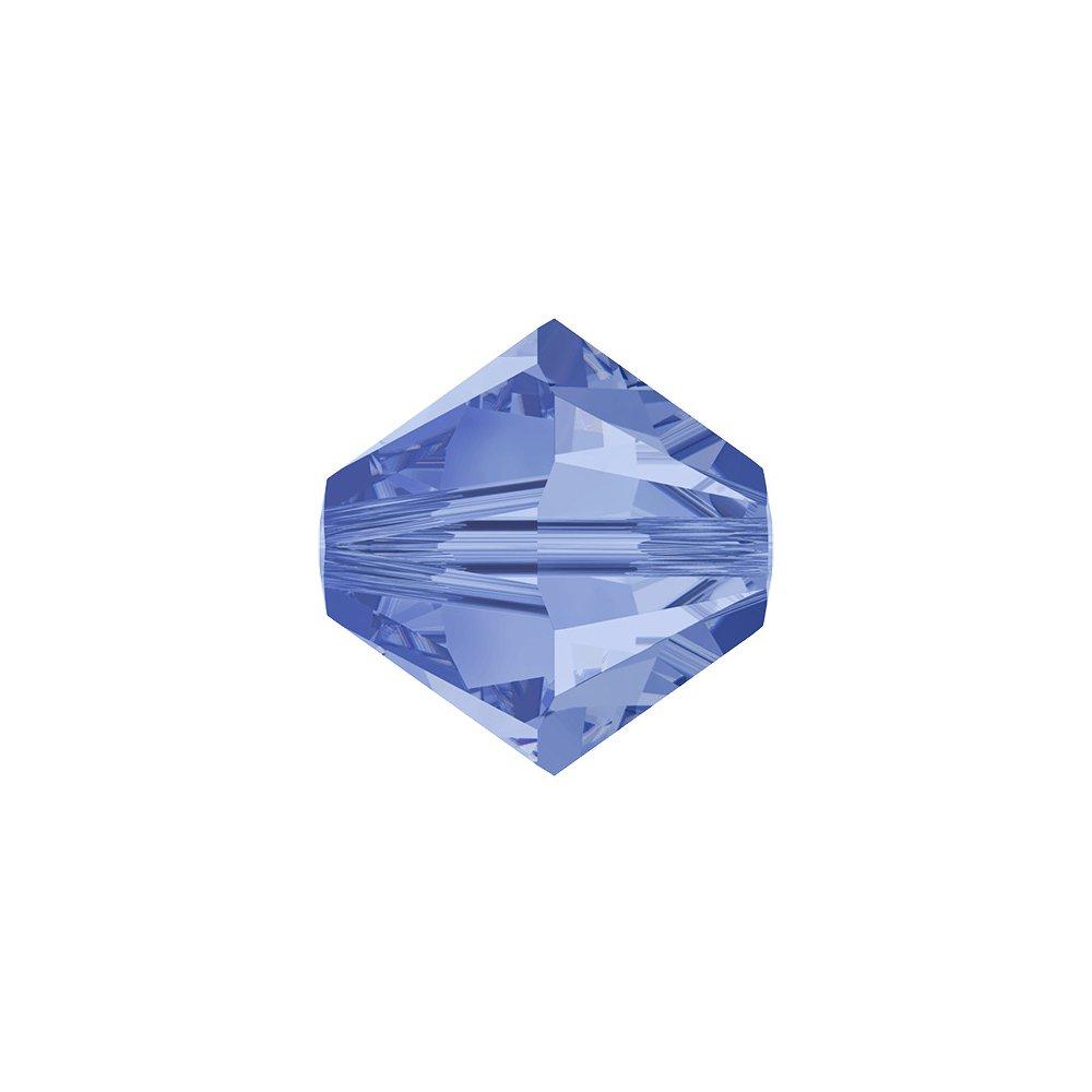 SWAROVSKI 5328 - XILION BEAD - Light Sapphire Shimmer - ∅ 6 mm - 1 ks