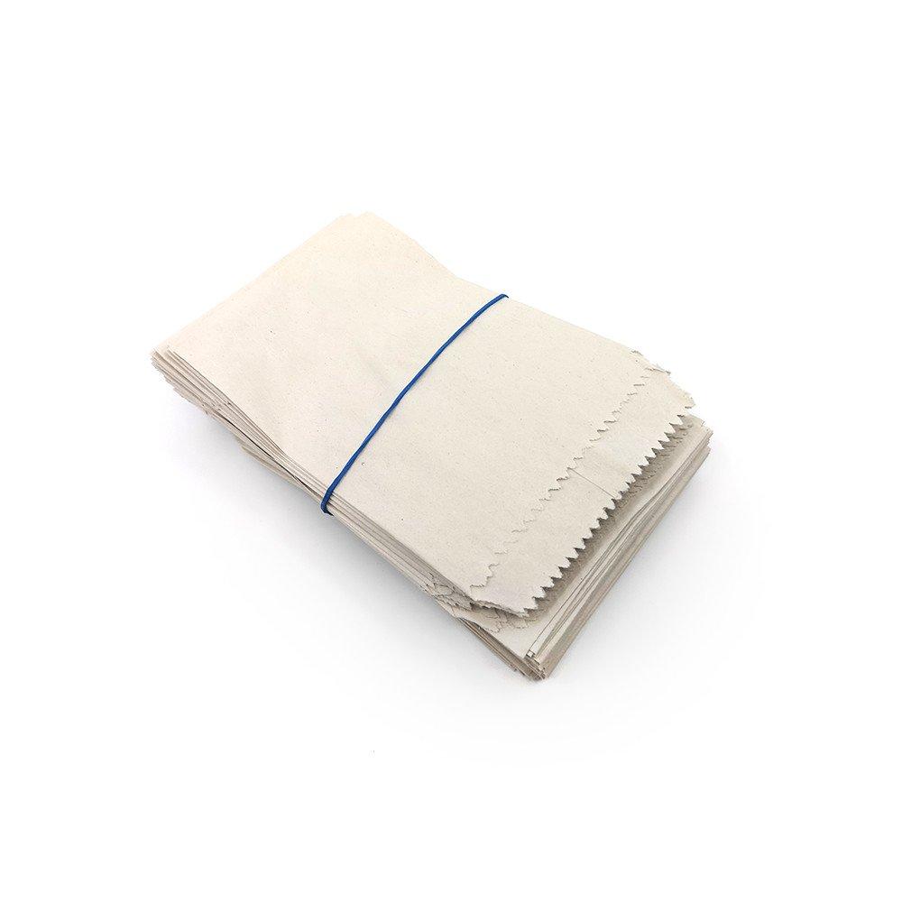 Papírové sáčky - béžové - 11 x 7 cm - 100 ks