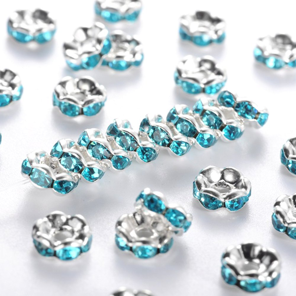 Mosazná rondelka - stříbrná - třída A - vroubkovaná - ∅ 6 x 3 mm - 1 ks