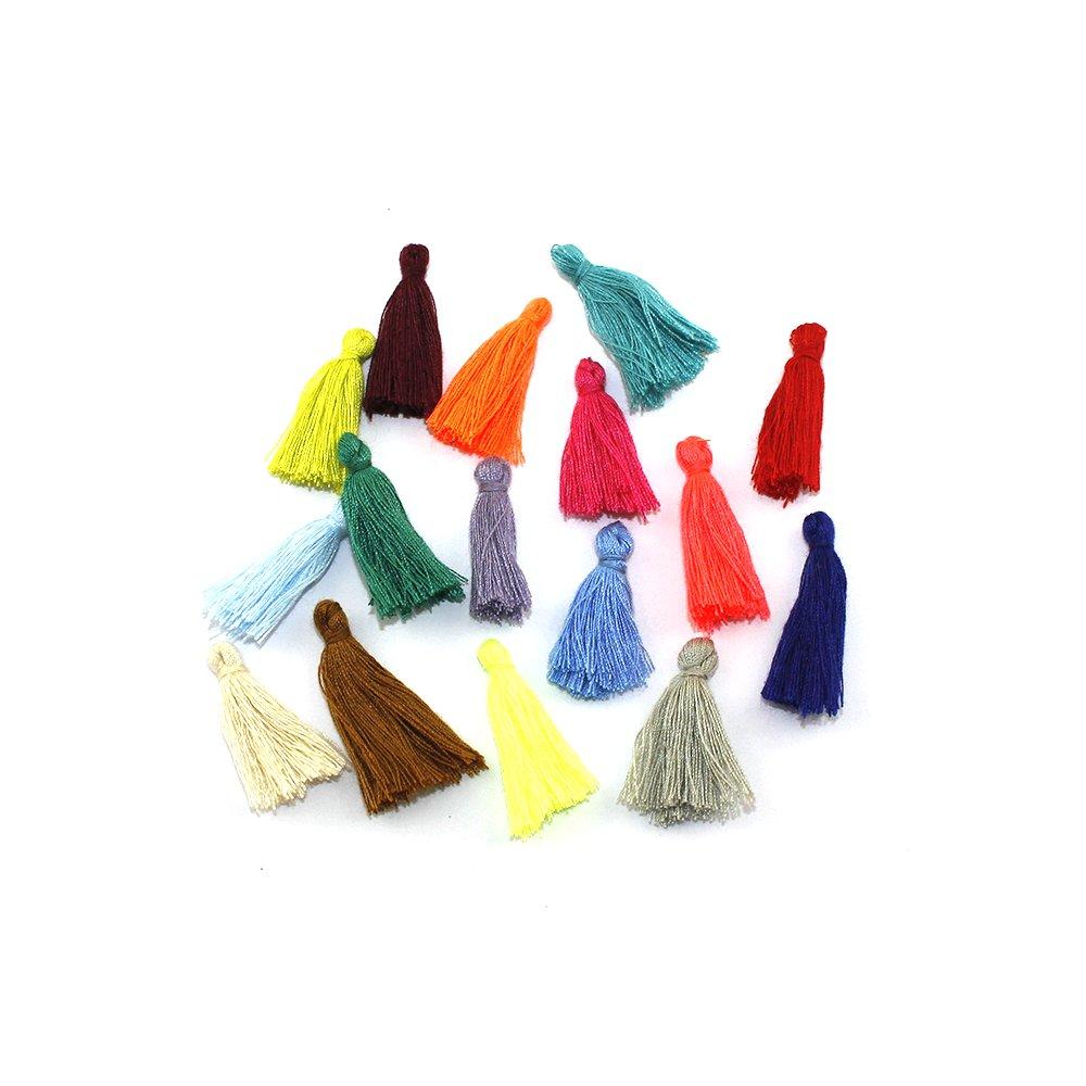 Bavlněný střapec - různá provedení - 25~31 x 5 mm - 1 ks