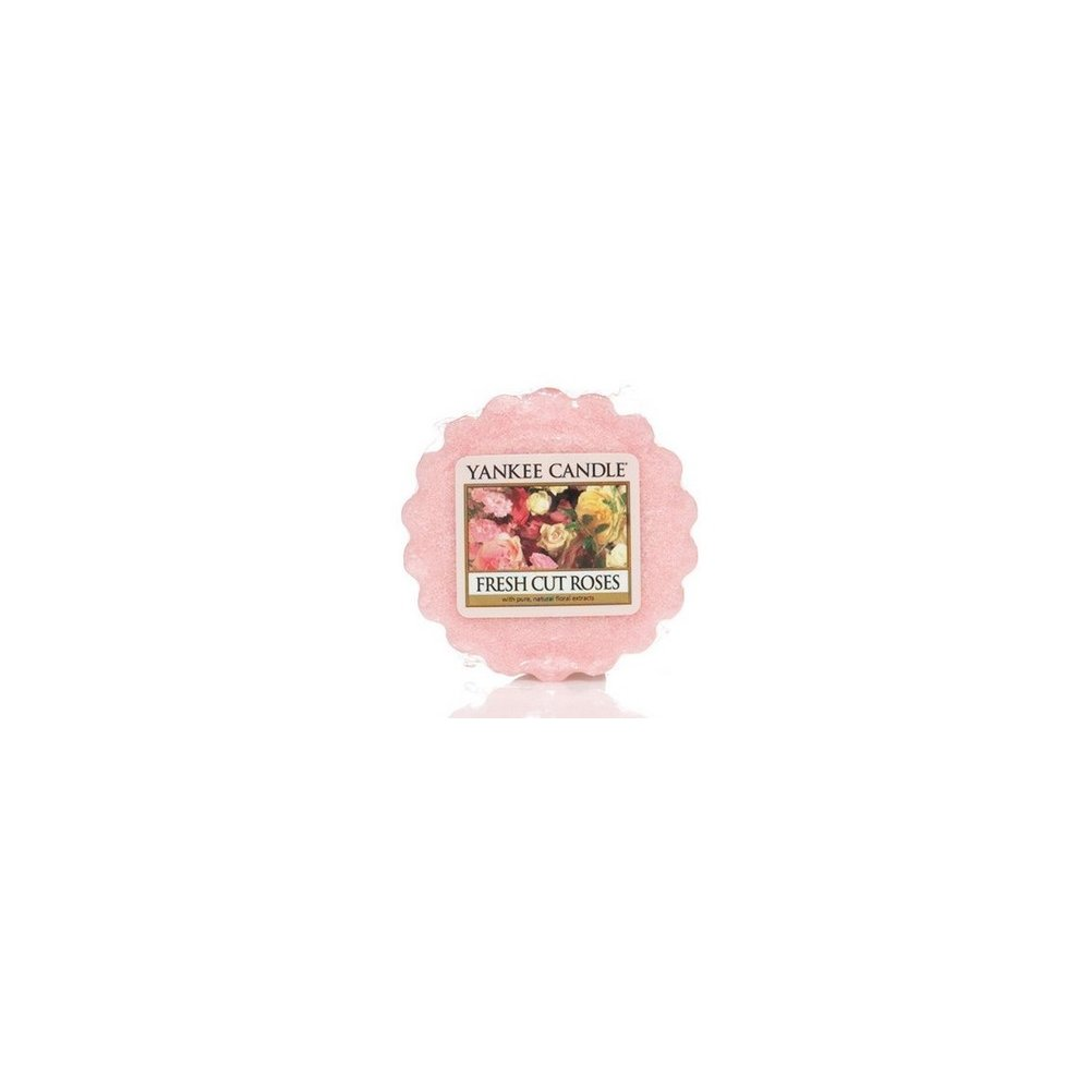 YANKEE CANDLE - FRESH CUT ROSES - vosk - 1 ks