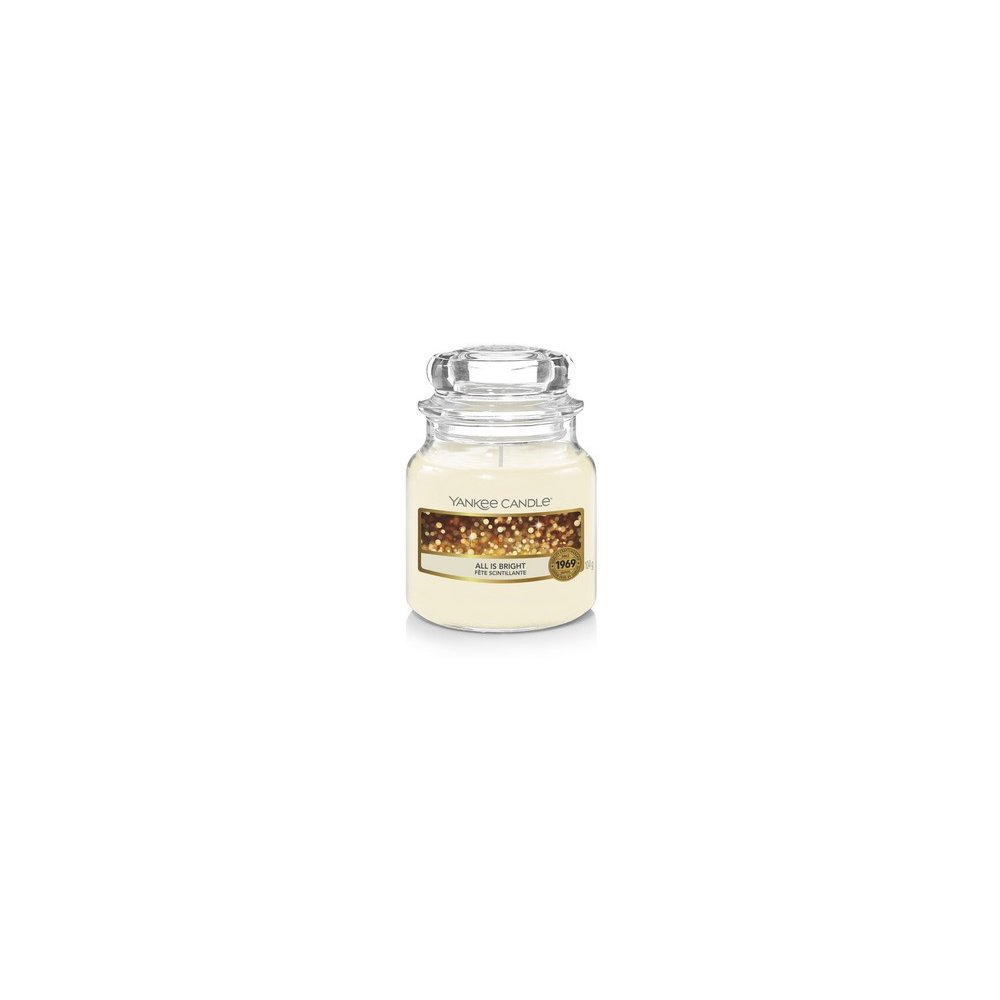 YANKEE CANDLE - ALL IS BRIGHT - vonná svíčka - classic malá - 1 ks