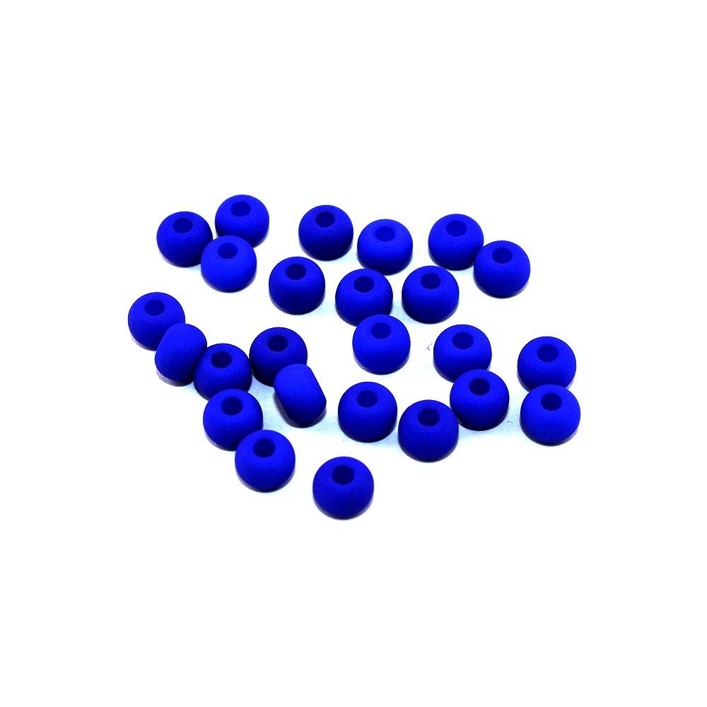 Korálky Estrela NEON - královsky modré - ∅ 5,5 mm - 10 ks