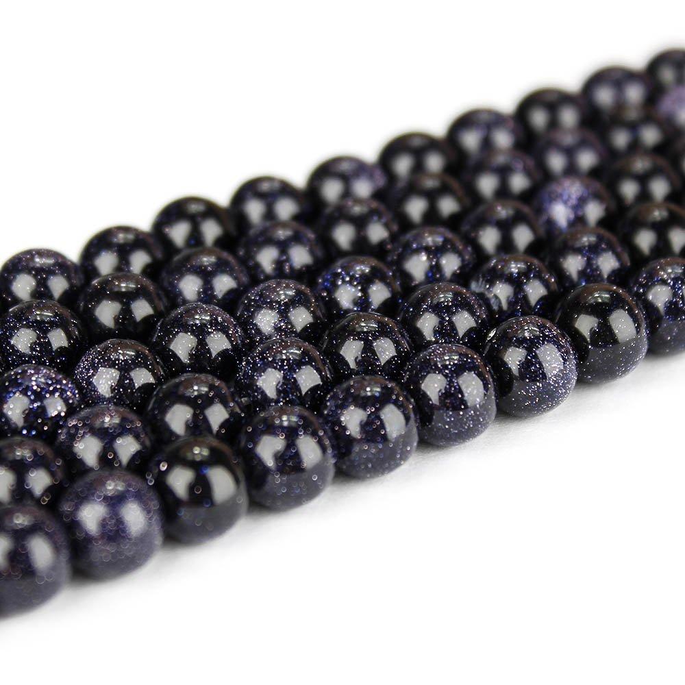 Syntetický modrý živec - ∅ 4 mm - 1 ks