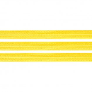 Elastická stuha - zářivě žlutá - 1,5 cm - 30 cm - 1 ks