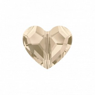 SWAROVSKI 5741 - LOVE BEAD - Light Silk - 11 x 12 x 5,5 mm - 1 ks