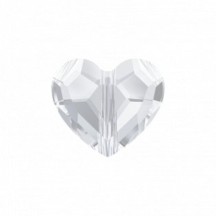 SWAROVSKI 5741 - LOVE BEAD - Crystal - 8 x 8 x 4 mm - 1 ks