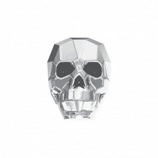 SWAROVSKI 5750 - SKULL BEAD - Crystal - Light Chrome - 13 x 10 x 13 mm - 1 ks