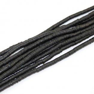 Lentilky z polymeru - černé - ∅ 5 mm - 10 ks