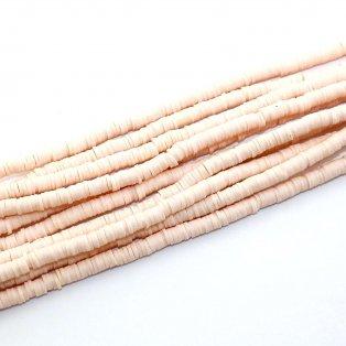 Lentilky z polymeru - ∅ 5 mm - růžové - 10 ks