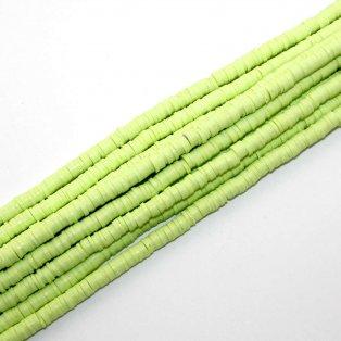 Lentilky z polymeru - světle zelené - ∅ 5 mm - 10 ks