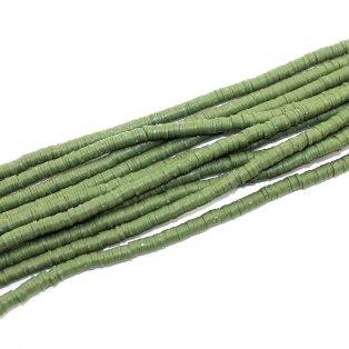 Lentilky z polymeru - ∅ 5 mm - zelené - 10 ks
