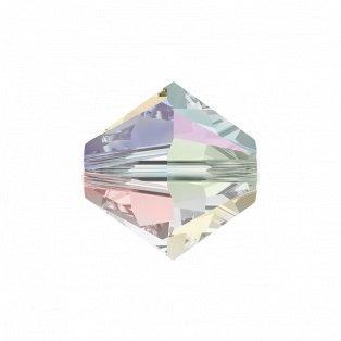 SWAROVSKI 5328 - XILION BEAD - Crystal Aurore Boreale 2x - ∅ 6 mm - 1 ks