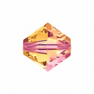 SWAROVSKI 5328 - XILION BEAD - Crystal Astral Pink - ∅ 6 mm - 1 ks