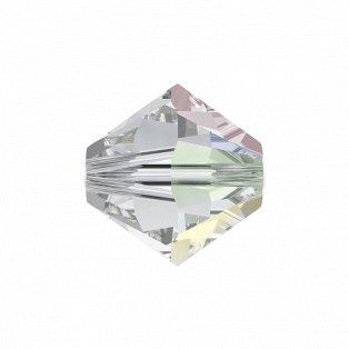 SWAROVSKI 5328 - XILION BEAD - Crystal Aurore Boreale - ∅ 6 mm - 1 ks