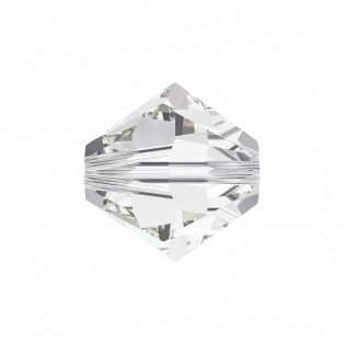 SWAROVSKI 5328 - XILION BEAD - Crystal - ∅ 4 mm - 1 ks