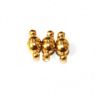 Magnetické zapínání - zlatá - 11 x 5 mm - 1 ks
