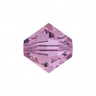 SWAROVSKI 5328 - XILION BEAD - Crystal Lilac Shadow - ∅ 6 mm - 1 ks