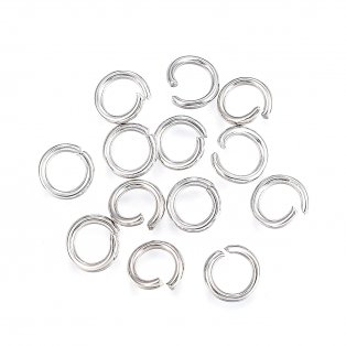 Spojovací kroužek z nerezové oceli - Ø 4 mm - 1 ks