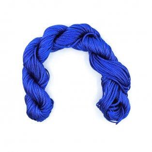 Nylonová šňůra - královská modř - ∅ 1 mm - 25 m - 1 ks