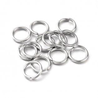 Mosazné spojovací kroužky - Ø 5 mm - 1 ks