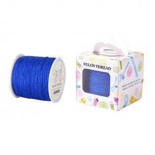 Nylonové vlákno - královsky modré - ∅ 0,8 mm - 90 m - 1 ks