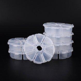 Plastový pořadník - 10,5 x 10,5 x 2,8 cm - 1 ks